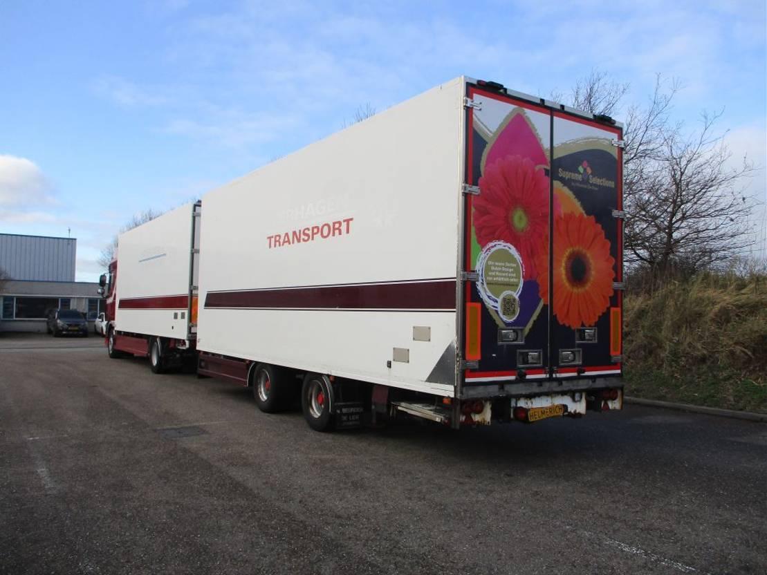 bakwagen vrachtwagen > 7.5 t DAF 105.410 EURO 5 COMBIE 2007