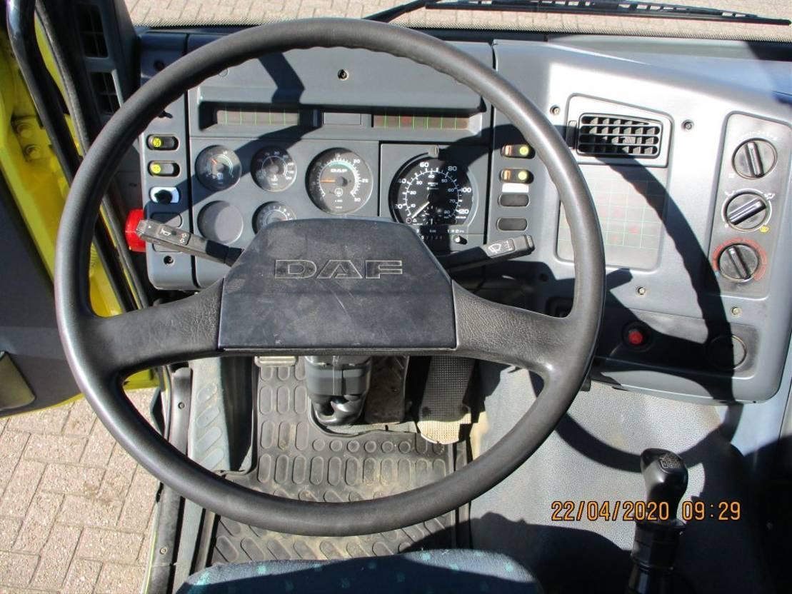 kipper vrachtwagen > 7.5 t DAF 65 180 ATI 1994