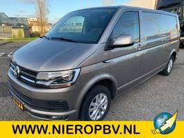 gesloten bestelwagen Volkswagen TRANSPORTER airco automaat navi 2016