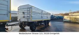 platte aanhanger vrachtwagen 8200 mm Ladefläche, Höhe 1900 mm