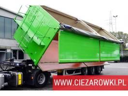 kipper oplegger CMT W25-50 , 55m3 , hydro-board , 3 x BPW , lift axle 2016