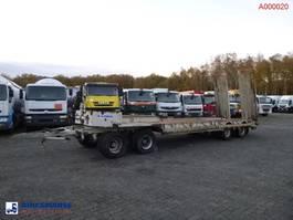 platte aanhanger vrachtwagen Kaiser 4-axle low_bed trailer 1998