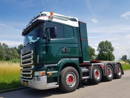 standaard trekker Scania R 580 8x4 Manual Retarder 2006
