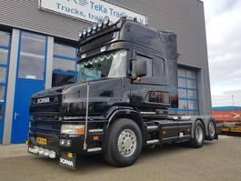 standaard trekker Scania 144 460 Torpedo 6x2 Special interior 1997