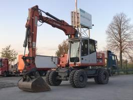 minigraafmachine rups Atlas Mobilbagger TW 160 SR Schwenklöffel 2008