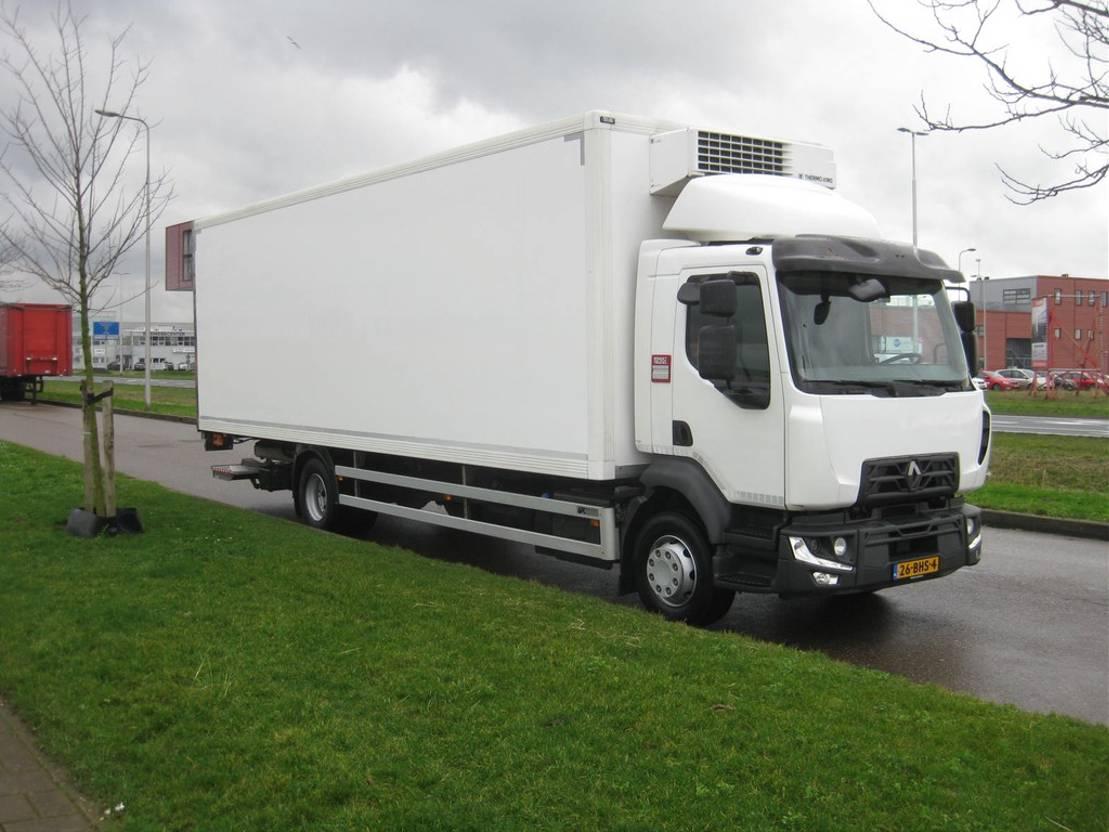 koelwagen vrachtwagen Renault D 16 MED P4X2 240 EURO 6 2016