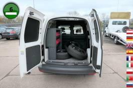 gesloten bestelwagen Volkswagen Caddy 2.0 TDI EcoProfi KLIMA NAVI WERKSTATT TEMP 2016
