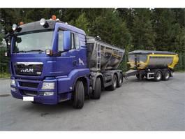 overige vrachtwagens MAN TGS 35.540 8x4 asfaltbil 2013
