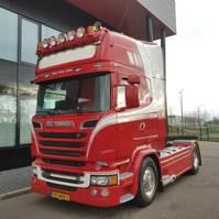 standaard trekker Scania R520 topline euro6 V8  LA4X2MNB optiecruise full air retarder 2014