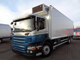 koelwagen vrachtwagen Scania P 280 + Manual + Dhollandia + Frigoblock 2011