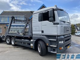 containersysteem vrachtwagen MAN TGA 26.400 6X2-2 BL 18 Tons portaalarm systeem 2007