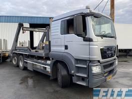 containersysteem vrachtwagen MAN TGS 26.400 6X2-4 BL EEV 18 Tons portaalarm systeem 2011