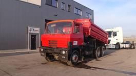 kipper vrachtwagen > 7.5 t Tatra T 815 (BIG AXLE / FULL STEEL SUSPENSION / MANUAL PUMP / 10 TIRES) 1987