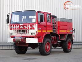 brandweerwagen vrachtwagen Renault 110 170 4x4 feuerwehr - fire brigade - brandweer - water tank - Camper -... 1991
