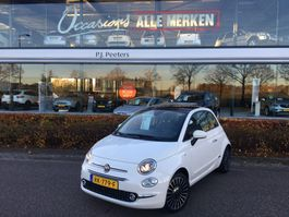 hatchback auto Fiat 500 0.9 TwinAir Turbo Lounge // met glazen schuif/kanteldak //full options 2017