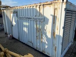 generator Caterpillar SR 4 CAT 3406 engine 20 ft container 2000