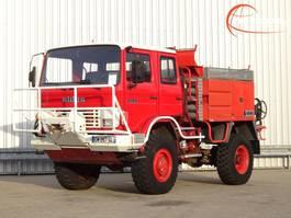 brandweerwagen vrachtwagen Renault 110 150 4x4 feuerwehr - fire brigade - brandweer - Lier, Winch, Winde - ... 1992
