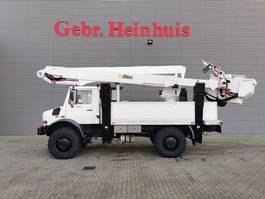 autohoogwerker vrachtwagen Unimog U5000 4x4 Altec TA60 2007