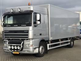 bakwagen vrachtwagen DAF 105 XF 410 EURO 5 GESLOTEN LAADBAK 2007