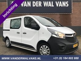 gesloten bestelwagen Opel Vivaro 1.6CDTI L1H1 Airco, Navigatie, inrichting 2015
