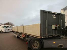 platte oplegger Lecitrailer LECITRAILER 3 aks trailer