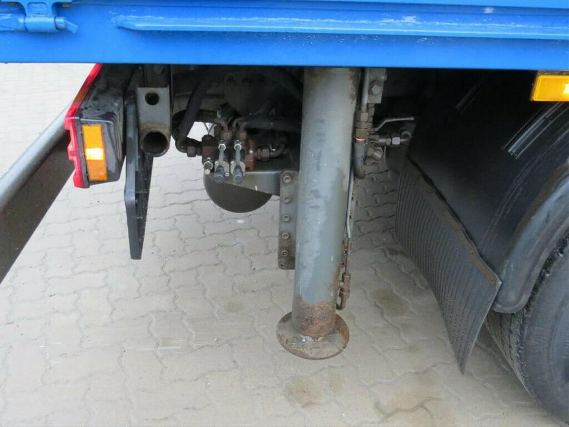 autotransporter vrachtwagen Mercedes-Benz Actros 2655 L 6x4 Pritsche V8 engine, Blatt/Luft 2010
