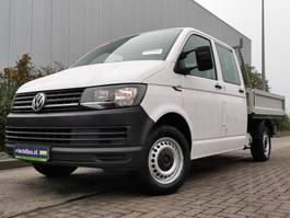 platform bedrijfswagen Volkswagen Transporter 2.0 TDI dubbel cabine 2016