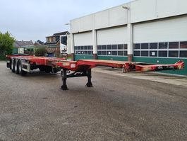 container chassis oplegger D-TEC Container chassis 45ft. / Multi / 3x uitschuifbaar / APK: 26-06-2021 2004