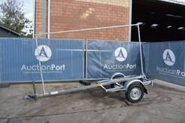 platte aanhangwagen 750 kg