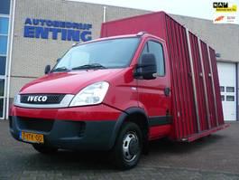 chassis cabine bedrijfswagen Iveco Daily 40 C 15 375 Glasresteel 3500 KG aanhanger 2012