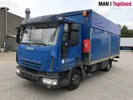 open laadbak vrachtwagen Iveco Eurocargo 80 E 18