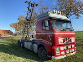 containersysteem vrachtwagen Volvo FH400 6X2R euro 5 NCH kabel containersysteem 2006