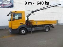 bestratingsmachine - werktuig Atego 3 816 K Atego 3, 816 K,  Kran Hiab 066-3 Funk, 9 m-640 kg, 2 x AHK 2014