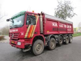 kipper vrachtwagen > 7.5 t Mercedes-Benz ACTROS 5048 AK 10X8 EURO 5 2008