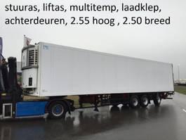 koel-vries oplegger Schmitz Cargobull stuuras , liftas , multitemperatuur, laadklep , bloemenbreedt , 2.55 hoog