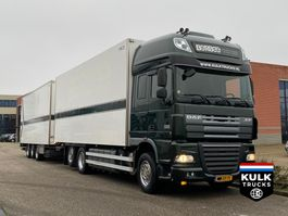 koelwagen vrachtwagen DAF XF 105 460 / FRIGO COMBI / TRS ICELAND VAN ECK 2012