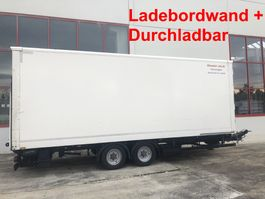 gesloten opbouw aanhanger Möslein TKO 105 DL Schwebheim  Tandem Koffer,Ladebordwand + Durchladbar 2016