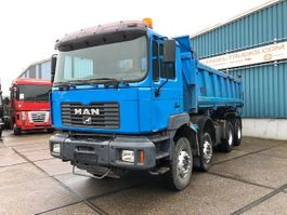 kipper vrachtwagen > 7.5 t MAN 35.414DF 8x4 FULL STEEL KIPPER (EURO 2 / ZF16 MANUAL GEARBOX / FULL STEE... 2002