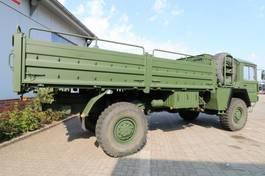 kipper vrachtwagen > 7.5 t MAN KAT 1 4x4 Flat Bed Truck with winch 1979