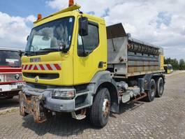 platform vrachtwagen Renault 320.26 DCI - 6x4 2002