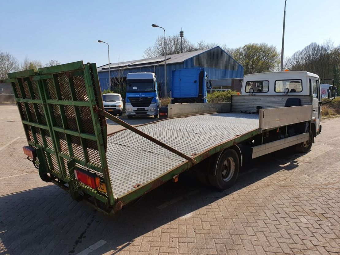 autotransporter vrachtwagen Volvo FL6 1998