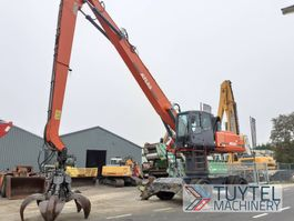 overslagkraan Atlas 350 MH industry handler waste metal incl. grabber 2011