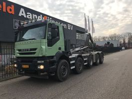 containersysteem vrachtwagen Iveco AD410T45P 10X4 2009