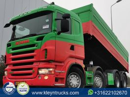kipper vrachtwagen > 7.5 t Scania R500 8x4 hnb e5 manual 2008