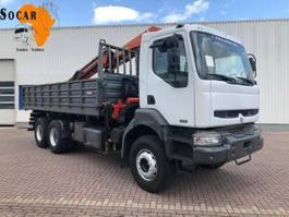 kipper vrachtwagen > 7.5 t Renault KERAX 370 6X4 STEELSPRINGS 2003