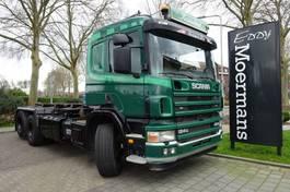 containersysteem vrachtwagen Scania P 124G 420 6x2 2004