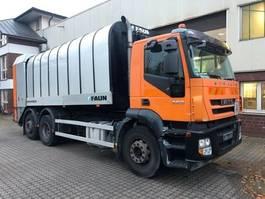 vuilkar camion Iveco Stralis 360 Faun Rotopress 521 Zöller 2301 2009