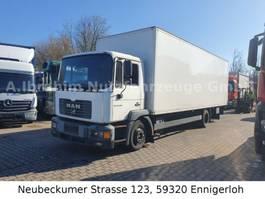 bakwagen vrachtwagen > 7.5 t MAN ME 14.280, 8.30 m Koffer, LBW