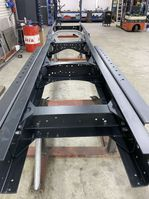 chassis vrachtwagen onderdeel Scania 143 4x2 chassis vol lucht