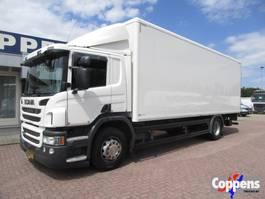 bakwagen vrachtwagen Scania P280 Bak+Klep 4X2 Euro 6 2016
